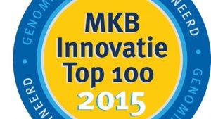 MKB innovatie top 100 logo van het jaar 2015