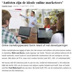 Autisten zijn de ideale online marketeers